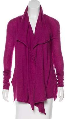 Calypso Open Front Cashmere Cardigan