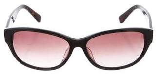 Calvin Klein Collection Logo Tinted Sunglasses