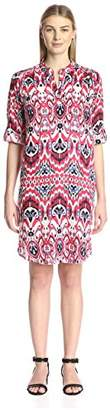 James & Erin Women's 3/4 Sleeve Dress