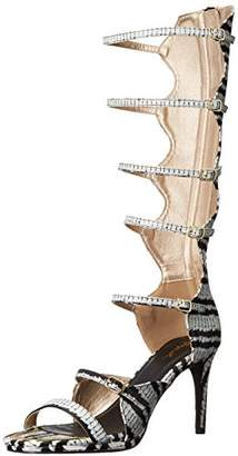 Qupid Women's Lagoon-09 Gladiator Sandal
