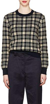 Dries Van Noten Women's Plaid Sweater
