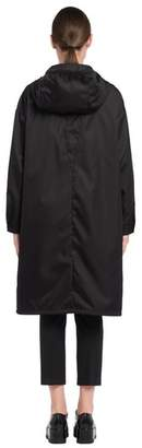 Prada Nylon Raincoat With Hood