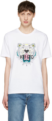 Kenzo White Tiger T-Shirt $120 thestylecure.com