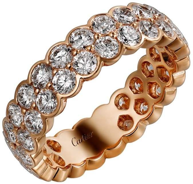 Pink Gold and Diamond Coup d'Éclat de Ring