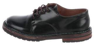 Pépé Boys' Leather Round-Toe Oxfords