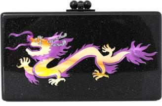 Edie Parker Jean Dragon Clutch