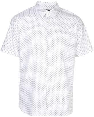 Vince dotted short-sleeve shirt