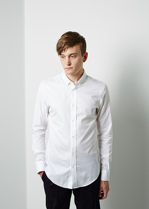 Maison Margiela Line 14 Oxford Shirt $390 thestylecure.com