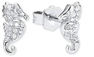 S'Oliver Girls Silver Stud Earrings - 2020860