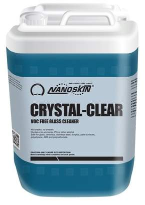 NANOSKIN Nanoskin (NA-CCR640) CRYSTAL-CLEAR VOC Free Glass - 5 Gallon