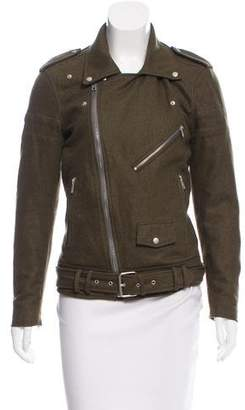 BLK DNM Wool Moto Jacket