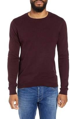 Topman Twist Side Rib Crewneck Sweater