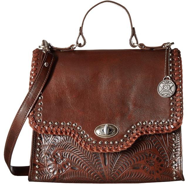 American WestAmerican West Hidalgo Top-Handle Convertible Flap Bag