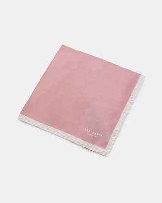 Ted Baker JELDER Plain silk pocket square