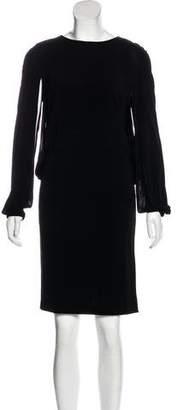 Joseph Long Sleeve Knee-Length Dress