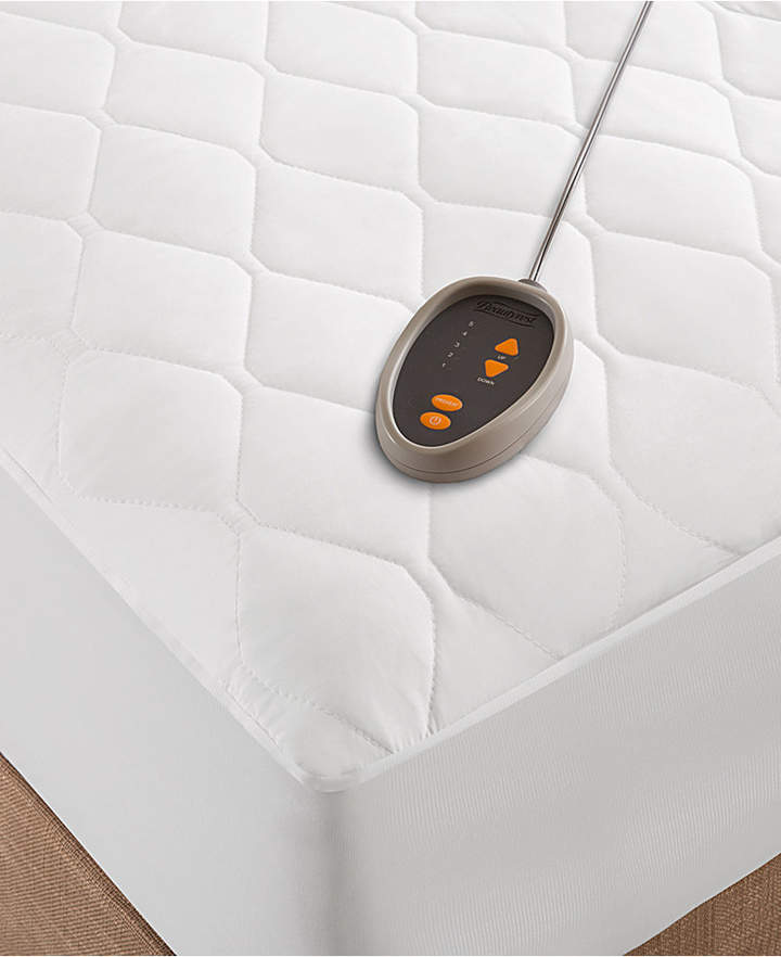 Quilted Twin Heated Mattress Pad