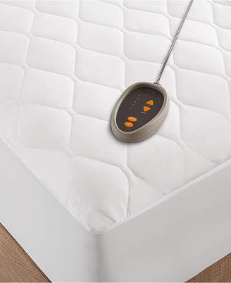 Simmons Quilted Twin Heated Mattress Pad