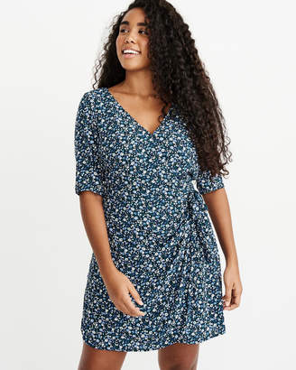 Abercrombie & Fitch Wrap-Front Dress