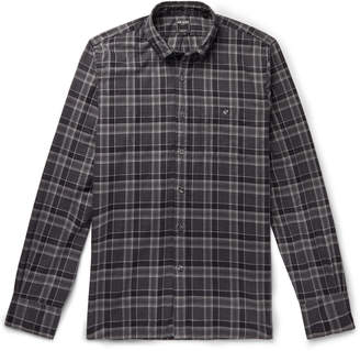 Todd Snyder Button-Down Collar Checked Cotton-Flannel Shirt - Men - Gray