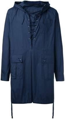 Undercover pullover rain jacket