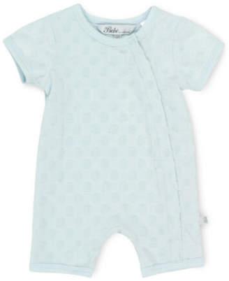 Bebe NEW Short Sleeve Romper Blue
