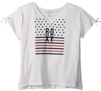 Roxy Kids Simple Touch Tee Girl's T Shirt