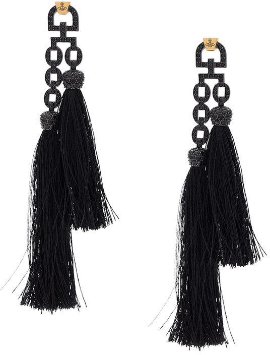 Vivienne WestwoodVivienne Westwood Electra tassel earrings