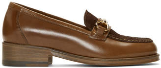 A.P.C. Brown Diana Loafers