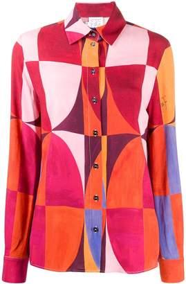Stella Jean graphic print shirt