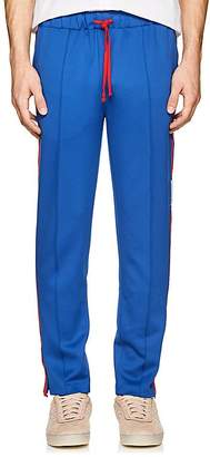 Ovadia & Sons Men's Striped Tech-Jersey Track Pants