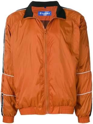 Études logo strap track jacket