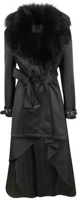 Elisabetta Franchi Celyn B. Belted Trench Coat