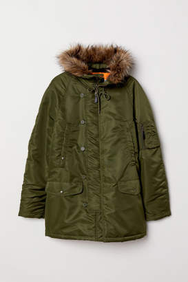 H&M Padded Parka - Green