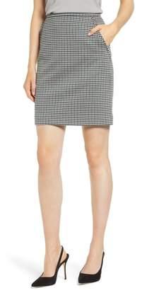 Anne Klein Houndstooth Pencil Skirt