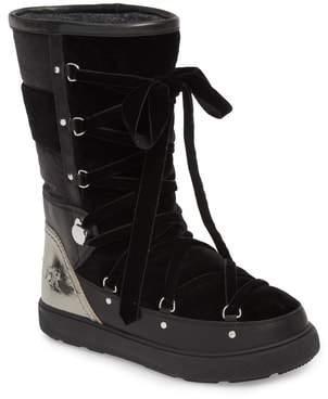 Moncler Syria Stivale Lace-Up Boot