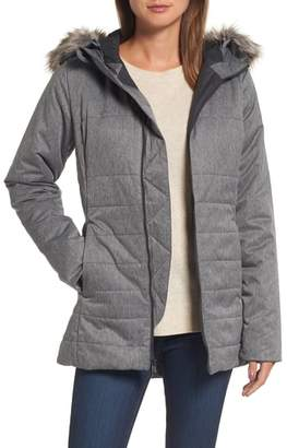 The North Face Harway Heatseeker(TM) Water-Resistant Jacket with Faux Fur Trim
