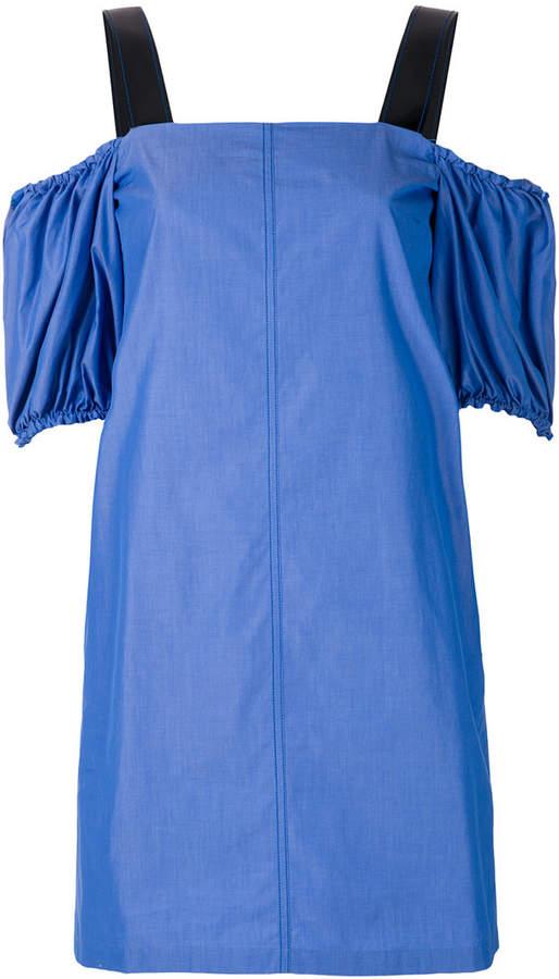 Sport Max Code Cina cold-shoulder dress