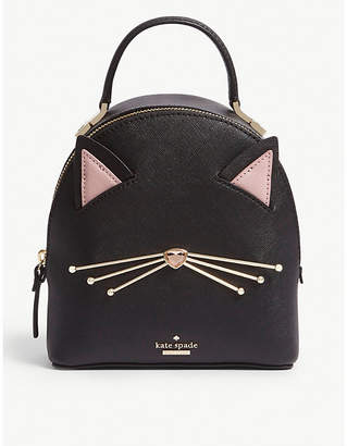 Kate Spade Cat's Meow Binx leather backpack