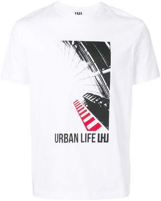 6b40f02c818b Les Hommes Urban graphic print T-shirt