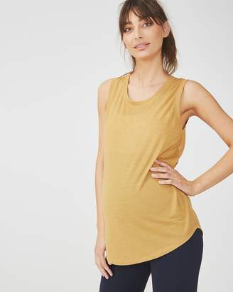 Maternity Scoop Neck Tank