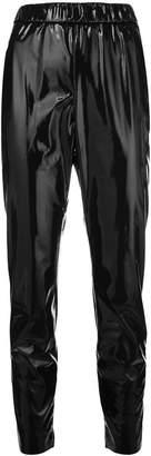MSGM PVC track pants