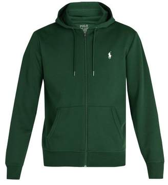 Polo Ralph Lauren Zip Through Hooded Cotton Jersey Sweatshirt - Mens - Green