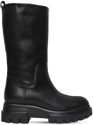 d3a97355305 Attilio Giusti Leombruni Agl 40mm Leather Midi Boots