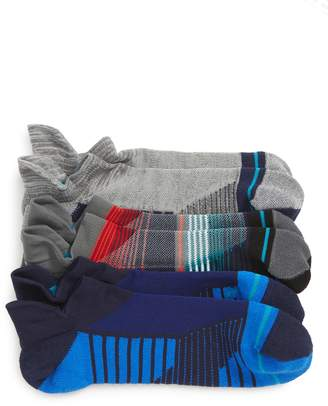 Stance Assorted 3-Pack Tab Ankle Socks