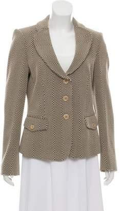 Armani Collezioni Textured Virgin Wool Blazer w/ Tags