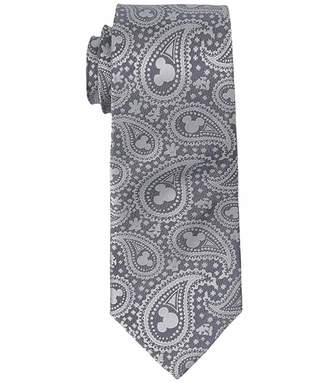 Cufflinks Inc. Mickey Mouse Gray Paisley Tie