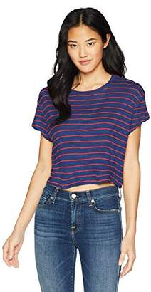 Splendid Women's Striped Crop top