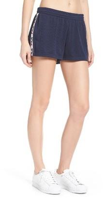 Women's Fila Minka Mesh Shorts $45 thestylecure.com