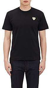 Comme des Garcons Men's Appliquéd T-Shirt-Black