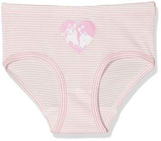 Sanetta Girl's Hipslip Stripe Panties, (Oxford Blue 50230)